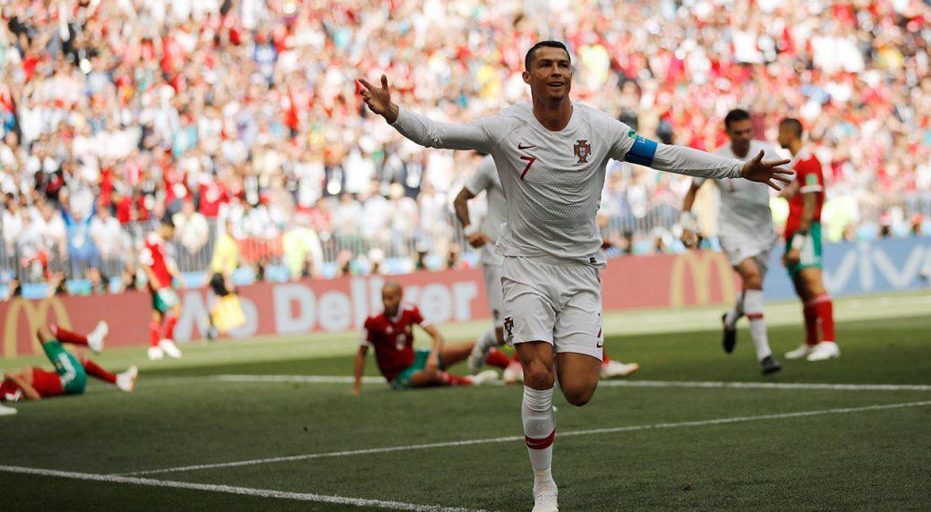 फीफा विश्व कप : मोरक्को के खिलाफ रोनाल्डो के गोल से जीता पुर्तगाल