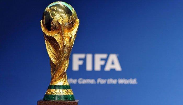 मॉस्को पहुंची फीफा विश्व कप ट्रॉफी