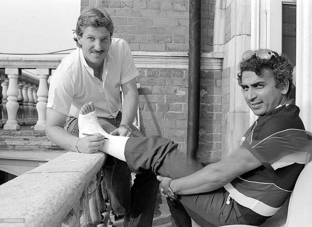 ENG vs IND: जब इंग्लैंड के खिलाफ एक शॉट से टूट गयी थी सुनील गावस्कर की हड्डी 19