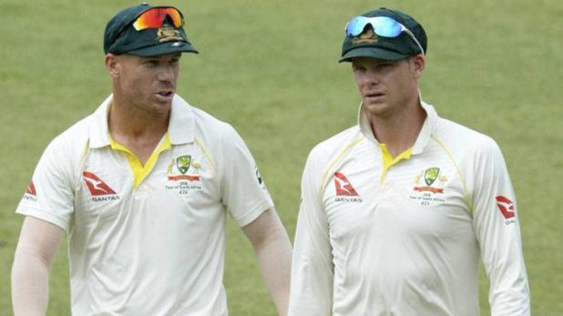 BREAKING NEWS- स्मिथ-वार्नर के प्रतिबंध को लेकर क्रिकेट ऑस्ट्रेलिया दिखा सकता है नरमी, टीम में जल्द हो रही है वापसी 1