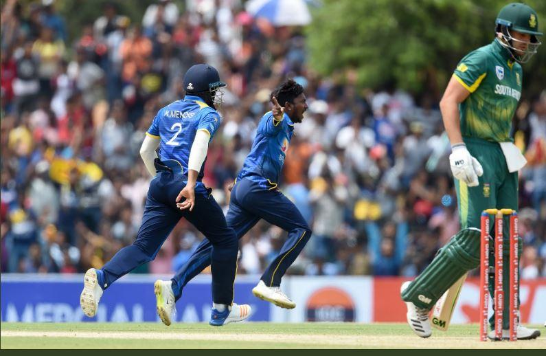 SL vs SA: W W W W के साथ शाम्सी और कगिसो रबाडा ने श्रीलंका को किया चित, 5 विकेट से जीता मैच 1