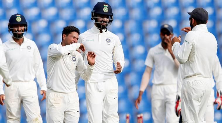 वीडियो : 68.6 ओवर में कुलदीप यादव ने कराई ऐसी गेंद, जिस पर टिम पेन हो गये चारों खाने चित 3