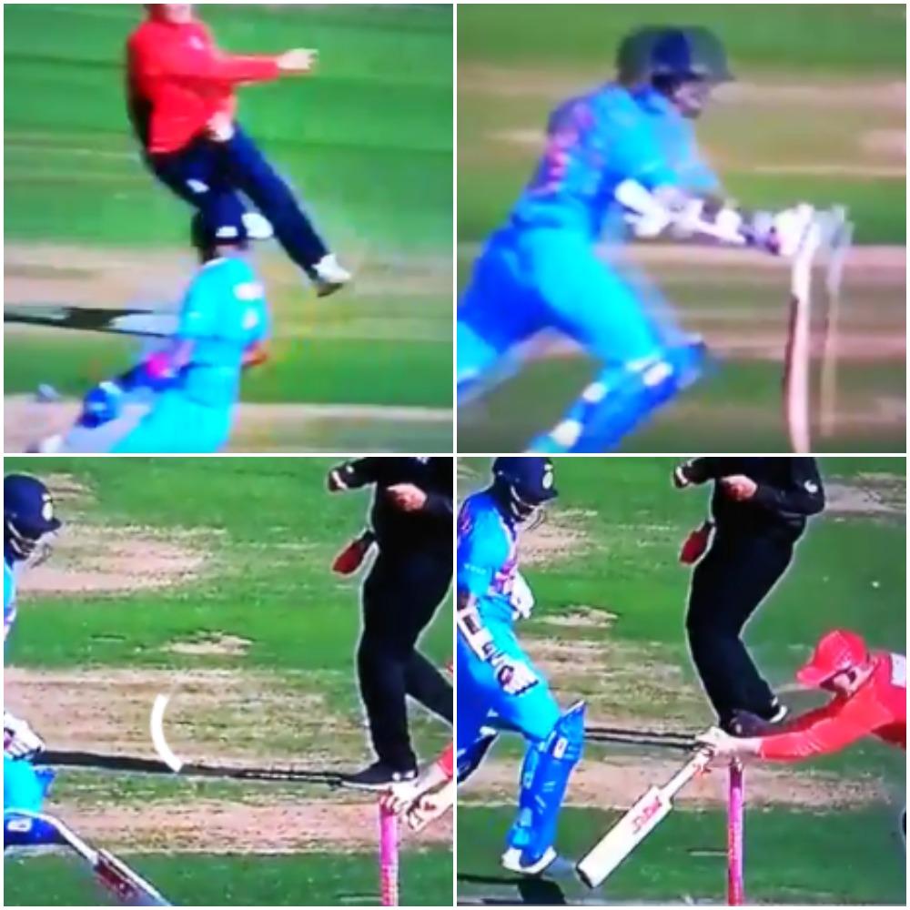 वीडियो : 4.2 ओवर में शिखर धवन से हुई ऐसी गलती भारतीय टीम को करना पड़ा हार का सामना