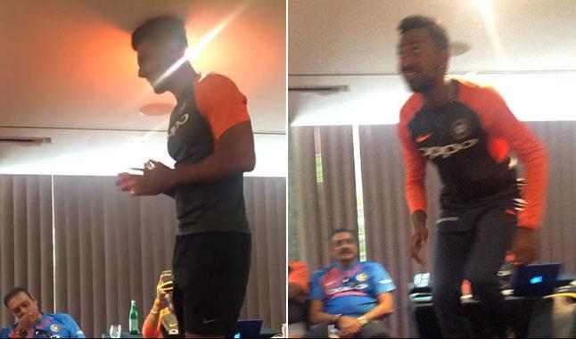 वीडियो: शास्त्री के साथ मिलकर कृणाल और दीपक चाहर की टीम इंडिया ने की रैगिंग, वीडियो हुआ वायरल 13