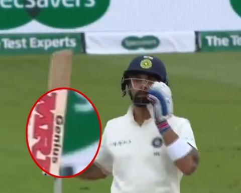 विराट कोहली के बल्ले में छुपा हुआ हैं उनके शानदार बल्लेबाजी का राज, देखे क्या है ख़ास 24