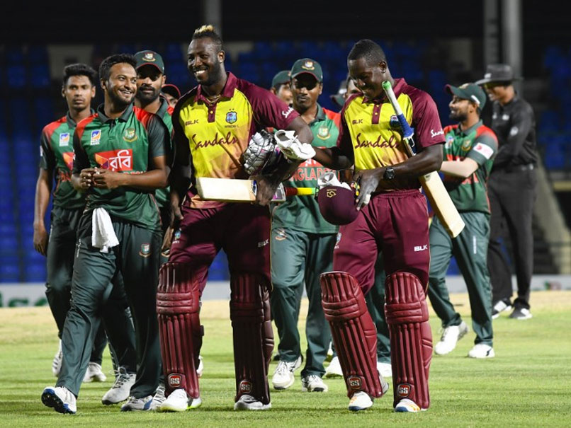 Williams and Russell won the West Indies victory over Bangladesh