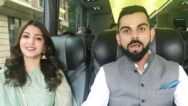 तो इस वजह से भारतीय टीम के साथ लंदन में रिशेप्शन पर गई थीं अनुष्का शर्मा 45