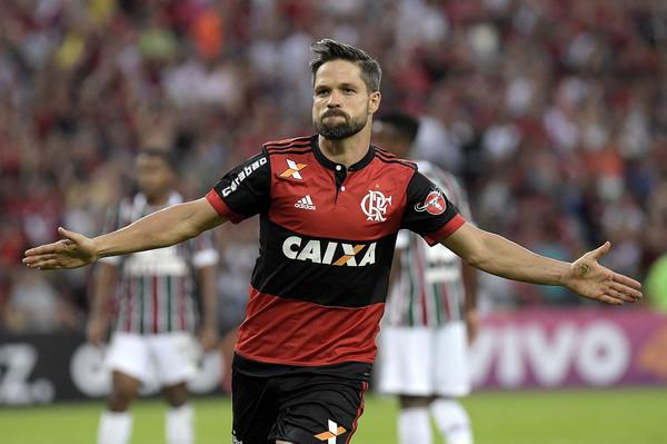 Brazil Serie-A: Flamengo won by Diego's goal