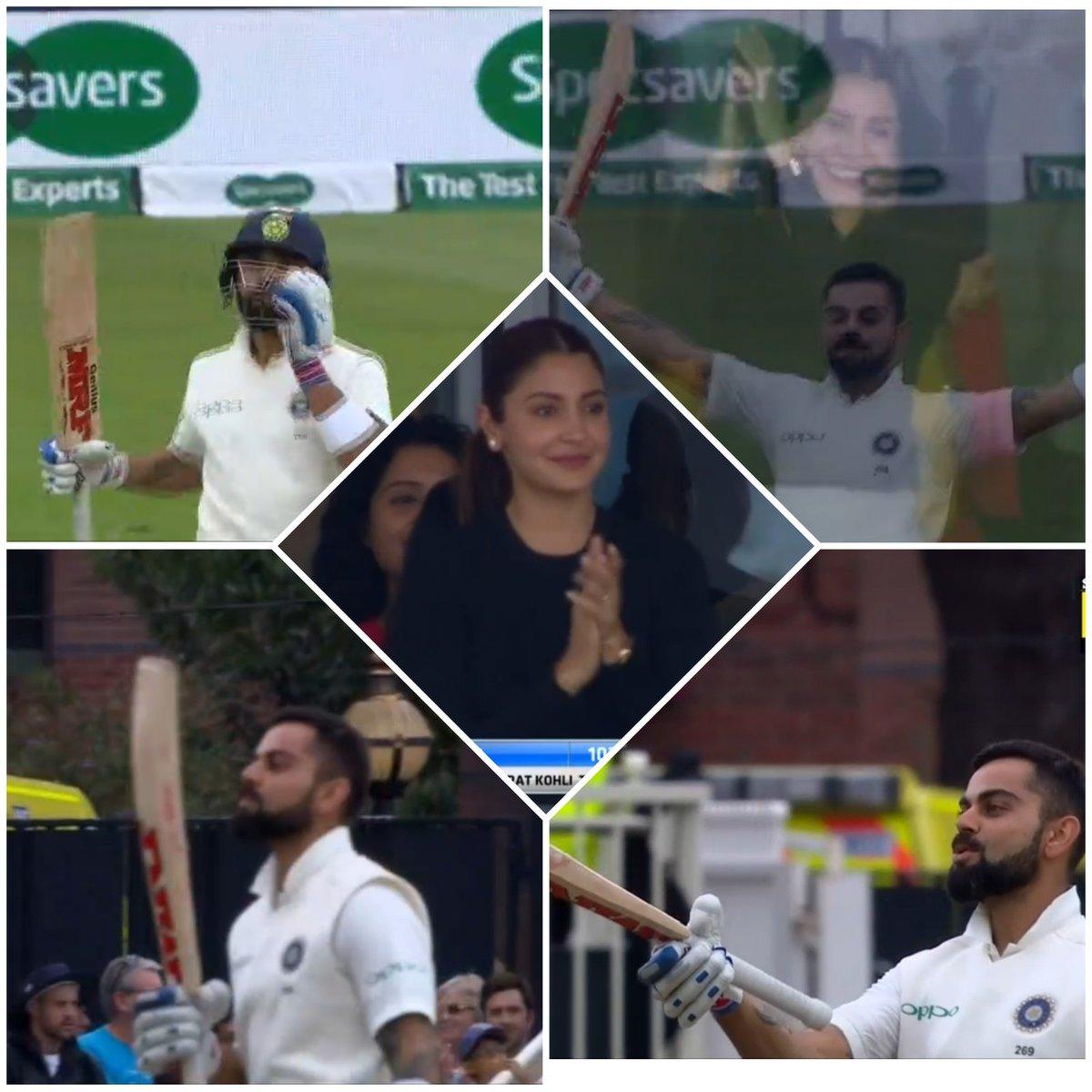 ENG vs IND: विराट ने शतक बनाने के बाद किया कुछ ऐसा, अनुष्का शर्मा को भी आ गई शर्म, देखे वीडियो