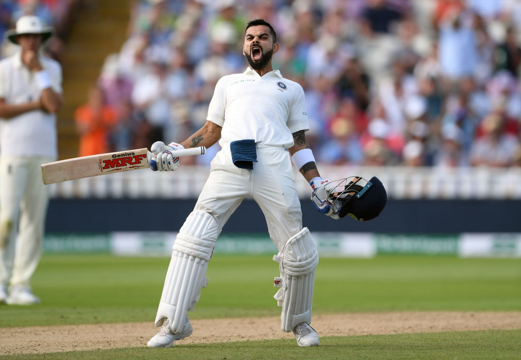 ENG vs IND: बर्मिंघम टेस्ट, दूसरा दिन: इंग्लैंड की तेज गेंदबाजी के सामने चट्टान बने भारतीय कप्तान विराट कोहली 38