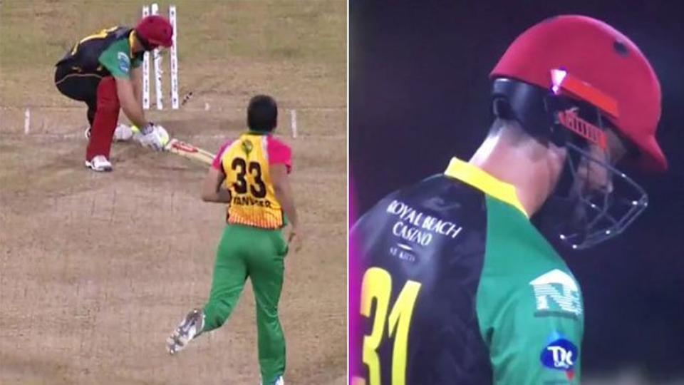 वीडियो: कैरेबियन प्रीमियर लीग में सोहेल तनवीर ने बल्लेबाज की तरफ किया अभद्र इशारा 18
