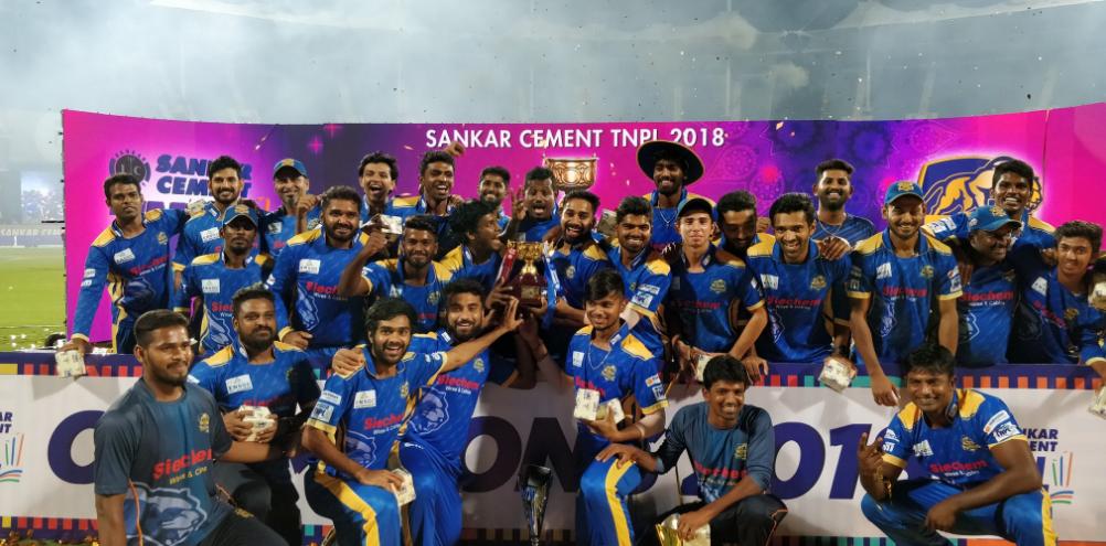 TNPL फाइनल: पहले ओवर में 3 विकेट खोने के बाद भी चैंपियन बनी मदुरै पैंथर्स, देखे पूरा स्कोर कार्ड 41