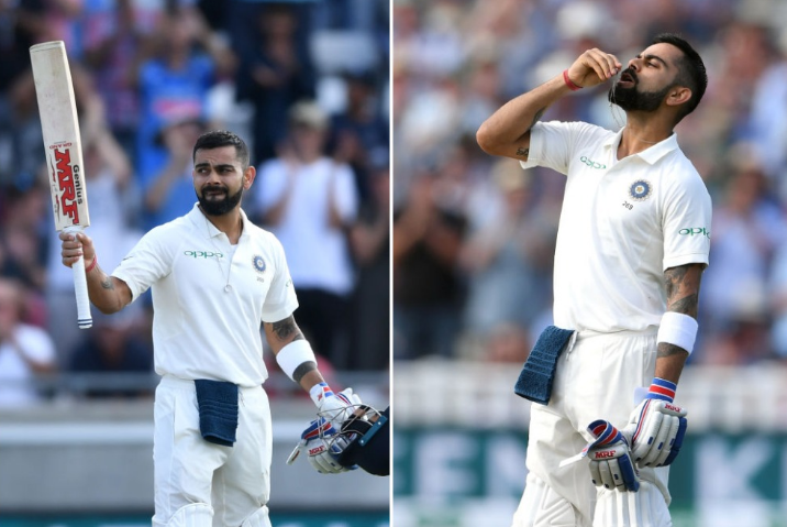 वीडियो: विराट कोहली ने शतक के बाद अनुष्का को चूमा, लेकिन जो रूट ने खेल भावना दिखा जीता सभी का दिल 47