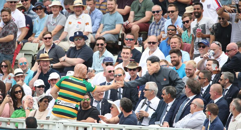 ENG vs IND: इंग्लैंड और भारत का मैच देखने पहुंचे डोनाल्ड ट्रम्प और किम जोंग उन! 45