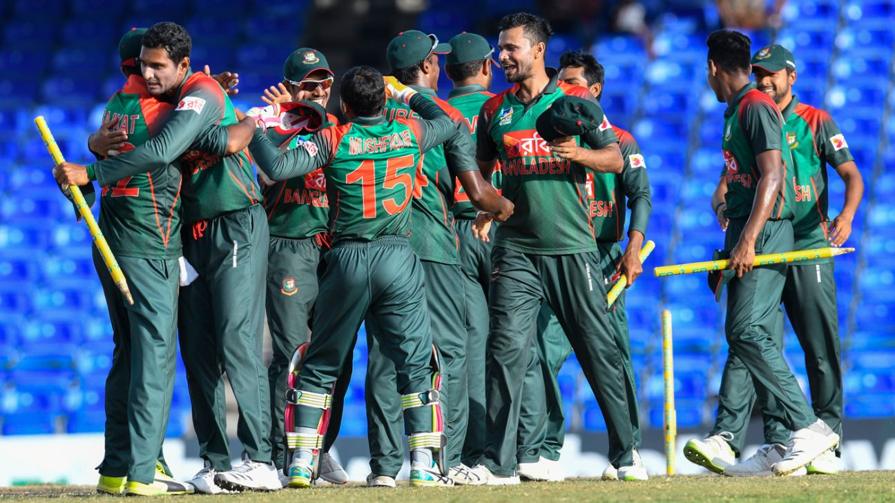 Bangladesh beat West Indies by 12 runs in second T20