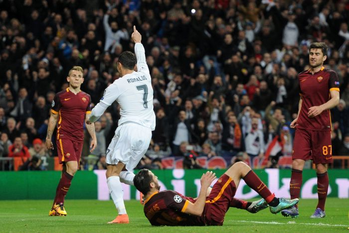 Champions League: Real beat Roma