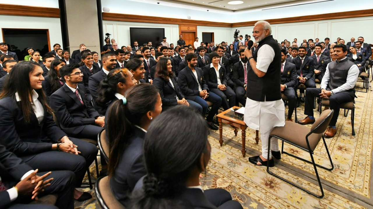 Modi congratulates medal winners of Asian Games