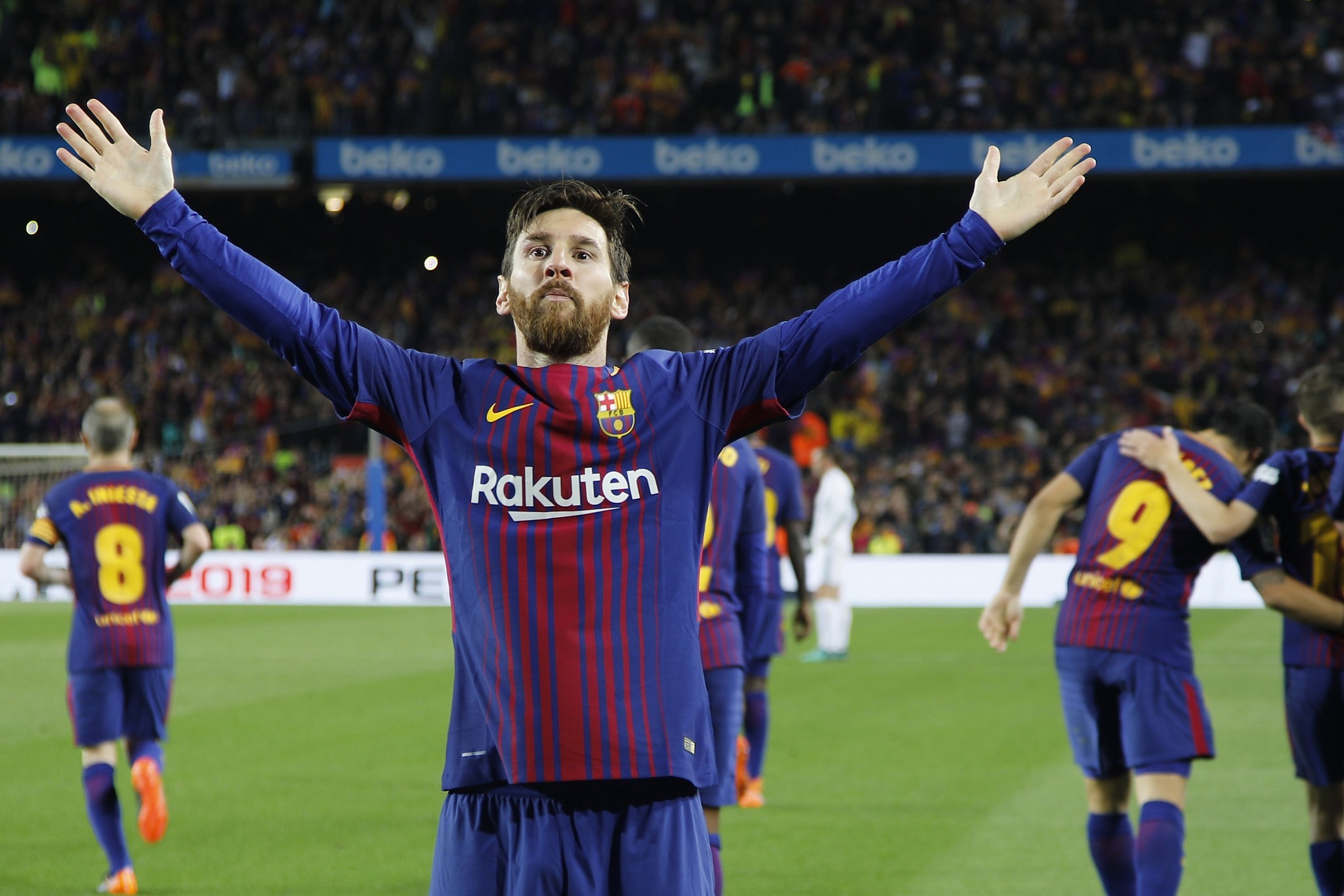 Barcelona not only dependent on me: Messi