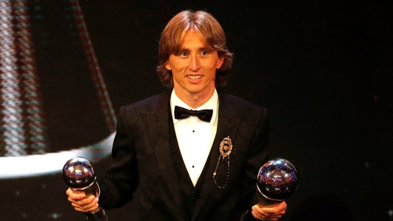 This award is not mine, not my team: Modric