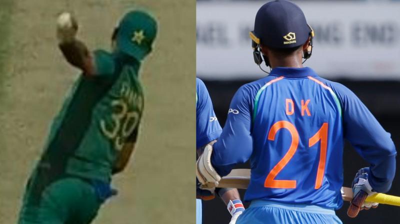 मैच के दौरान फखर जमान और दिनेश कार्तिक से हुई बड़ी गलती, भड़के गावस्कर ने कहा सीख लो देश का सम्मान 1