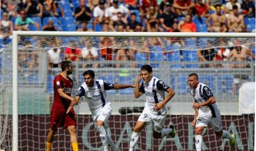 इटली लीग : रोमा ने चिएवो के साथ खेला रोमांचक ड्रॉ