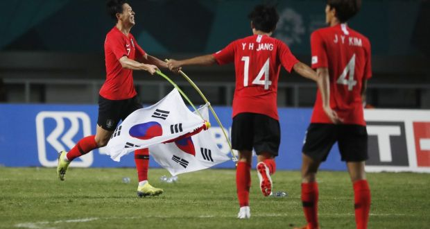 Asian Games (Football): South Korea Wins Gold