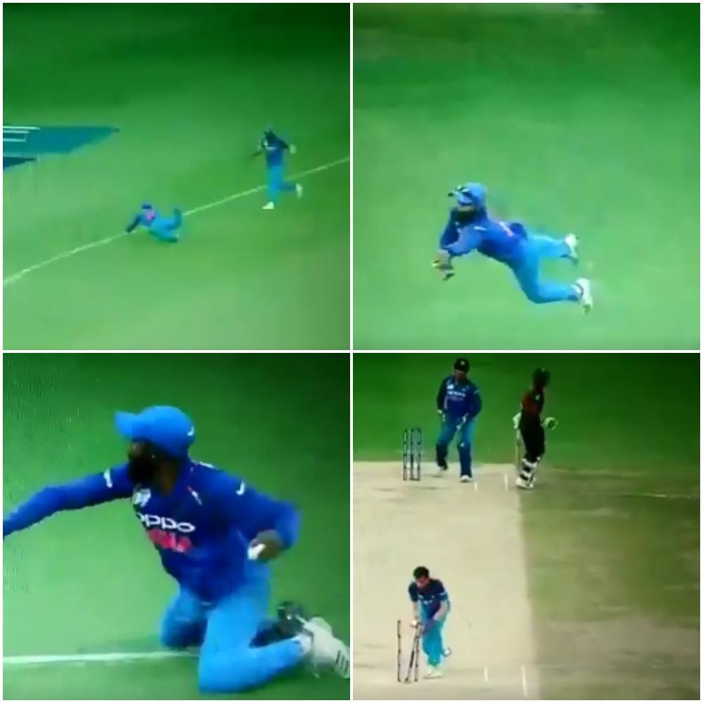 वीडियो: रविन्द्र जडेजा ने मिथुन को मात्र 5 सेकंड में गेंद पकड़कर किया रन आउट, आज से पहले नहीं देखा होगा ऐसा रन आउट 43