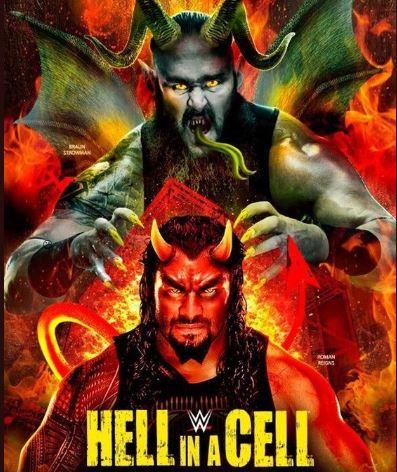 WWE 'हैल इन ए सैल' के लिए प्रोमो पोस्टर हुआ लांच, खतरनाक दिखे रोमन रेन्स