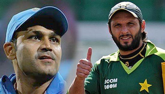 शाहिद अफरीदी ने बताया उस भारतीय बल्लेबाज का नाम जिसके सामने गेंदबाजी करने में छुट जाता था पसीना 2