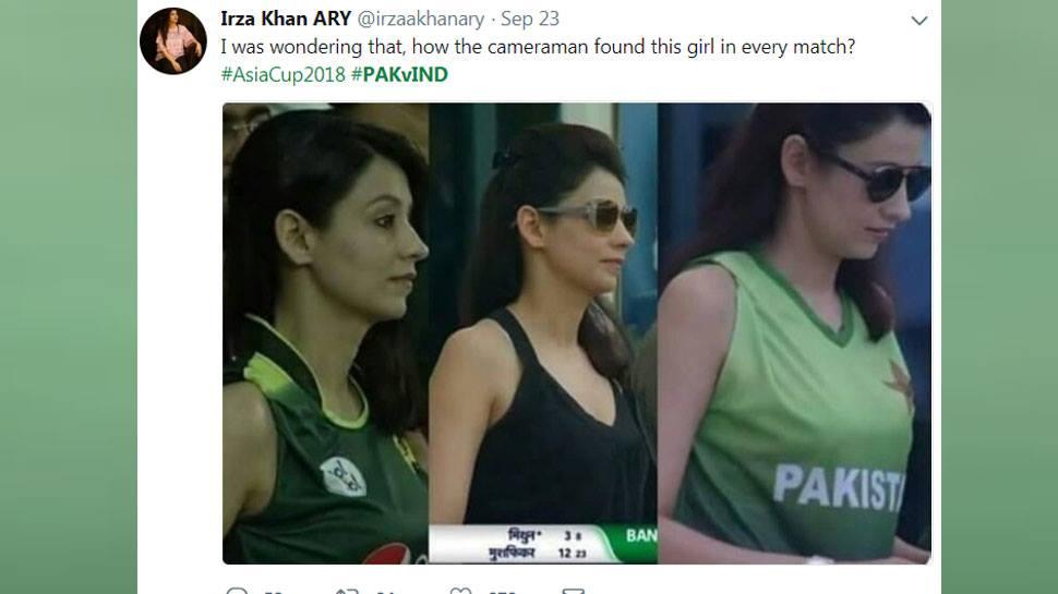 एशिया कप में नजर आयी पाकिस्तानी मिस्ट्री गर्ल निकली शादी-शुदा, जानकर टूटे लाखों दिल 5