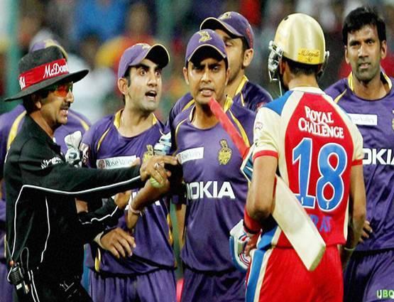 5 ऐसे मौके जब विरोधी टीम के खिलाड़ियों से मैदान पर ही भीड़ गये गौतम गंभीर 1
