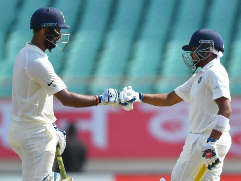 India's Test debut, 364 runs in four wickets for India