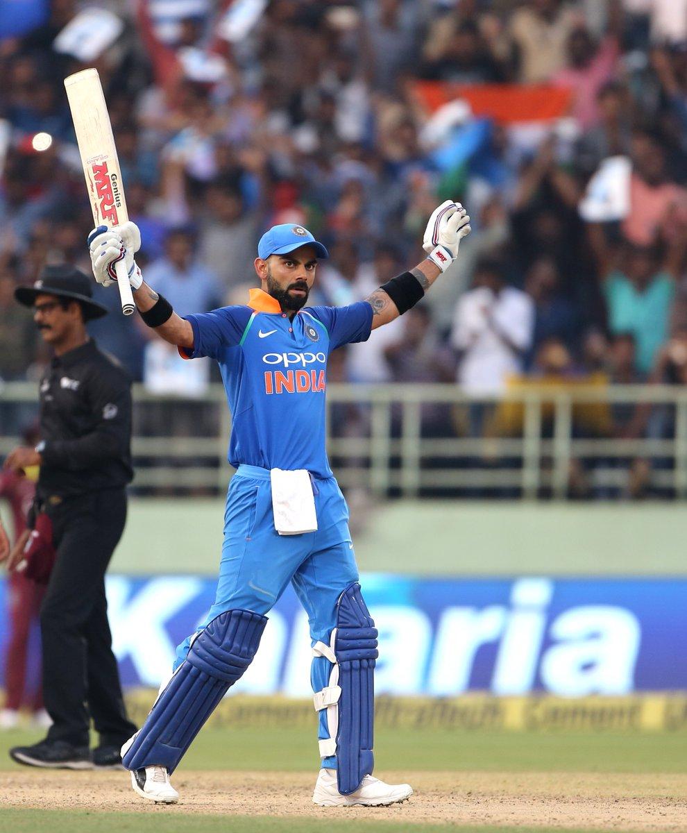 सचिन और रिकी पोंटिंग का रिकॉर्ड तोड़ने पर बीसीसीआई ने दिया भारतीय कप्तान विराट कोहली को ये नया नाम 1