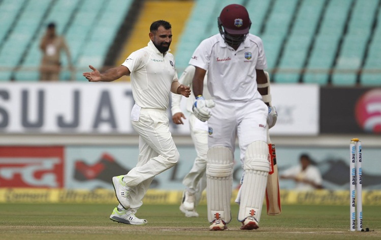 Rajkot Test: In the first innings at 181 Simti West Indies, India gave follow-on