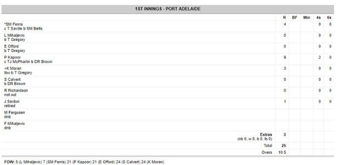 ऑस्ट्रेलिया ने फिर रचा इतिहास 50 ओवर में बनाएं 596 रन, विरोधी टीम 25 रनों पर हुई आलआउट 2