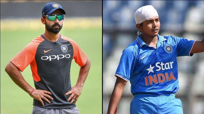 विजय हजारे ट्रॉफी: रोहित शर्मा के साथ सेमीफाइनल में टीम का हिस्सा होंगे अजिंक्य रहाणे और पृथ्वी शॉ