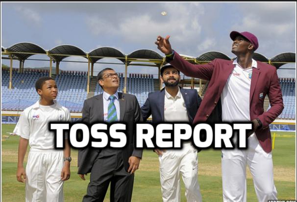 INDvsWI : टॉस रिपोर्ट : भारत ने टॉस जीत चुनी बल्लेबाजी, इस युवा खिलाड़ी को मिला डेब्यू का मौका, तो दिग्गज की हुई वापसी 24