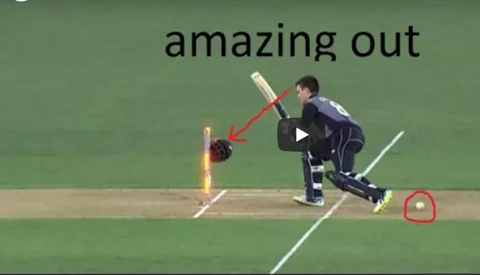 वीडियो : क्रिकेट में पांच बहुत ही अजीबोगरीब तरीके से आउट होने वाले बल्लेबाज