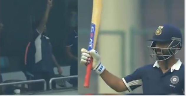 वीडियो- अजिंक्य रहाणे 97 रन पर मनाने लगे शतक का जश्न तो सुरेश रैना ने किया कुछ ऐसा छा गयी चेहरे पर मायूसी 5