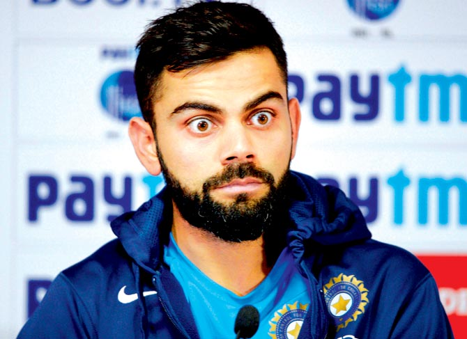 विराट कोहली ने कहा मेरी गेंदबाजी को नहीं लेता कोई गंभीर, विश्व कप में करूंगा गेंदबाजी 1