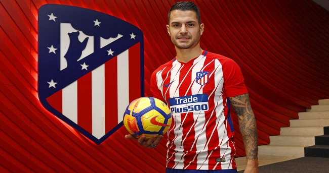 Atletico Madrid practiced without the Savic and Vitolo