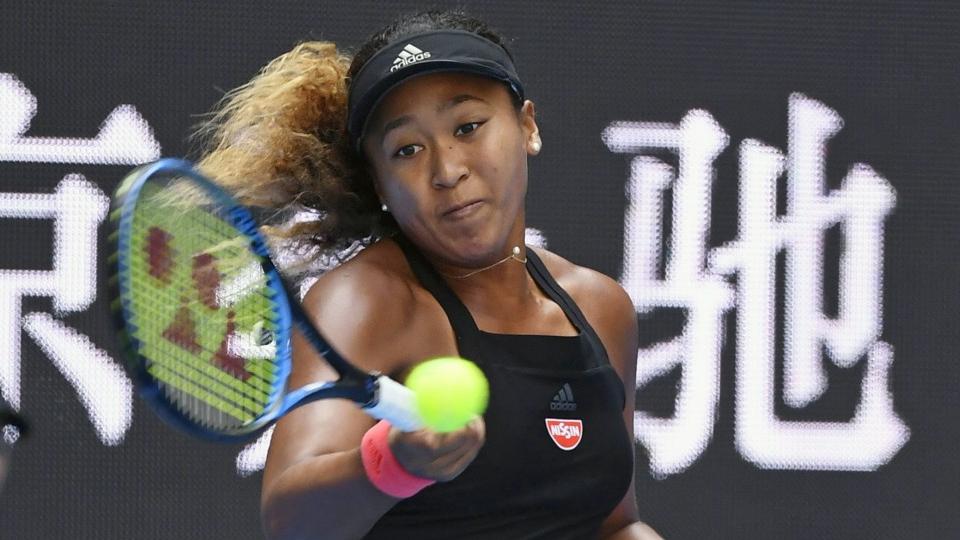 Tennis: Osaka China Open in quarterfinals