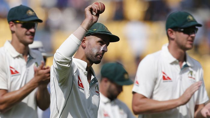 ऑस्ट्रेलिया के ऑफ स्पिन गेंदबाज नाथन लियोन ने टेस्ट क्रिकेट में बनाया ये अनोखा रिकॉर्ड