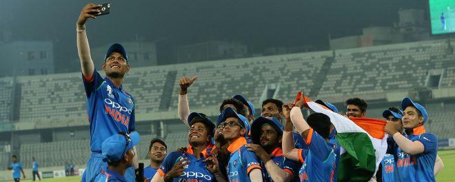 भारतीय जूनियर क्रिकेट टीम के दबंग अंदाज में एशिया कप जीतने पर सौरव गांगुली खुश कही ये बात
