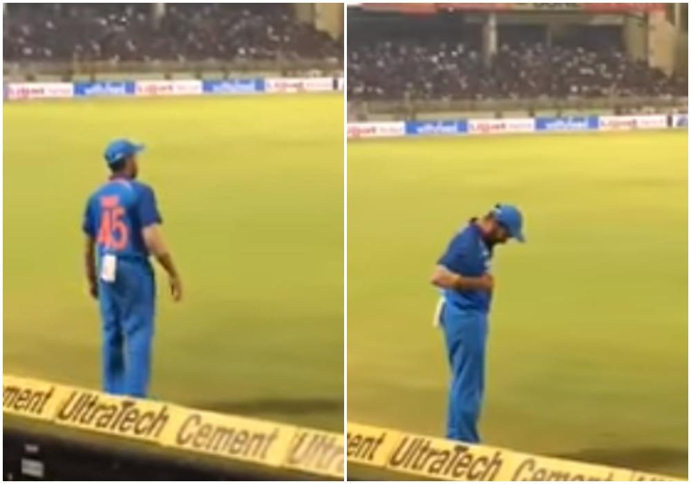 वीडियो: रोहित शर्मा ने किया ऐसा काम, गर्व से चौड़ा हो जाएगा हर भारतीय का सीना