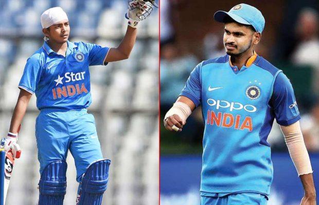 INDvsWI: आखिरी तीन वनडे मैचों के लिए भारतीय टीम में हो सकते हैं ये दो बड़े बदलाव 3