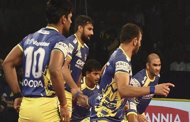 प्रो कबड्डी लीग: काशीलिंग अडके और पवन कुमार दे रहे बेंगलुरु बुल्स को मजबूती 32