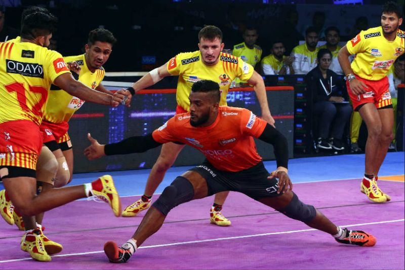 Pro Kabaddi League: Gujarat's 'Sixth' victory in an exciting match