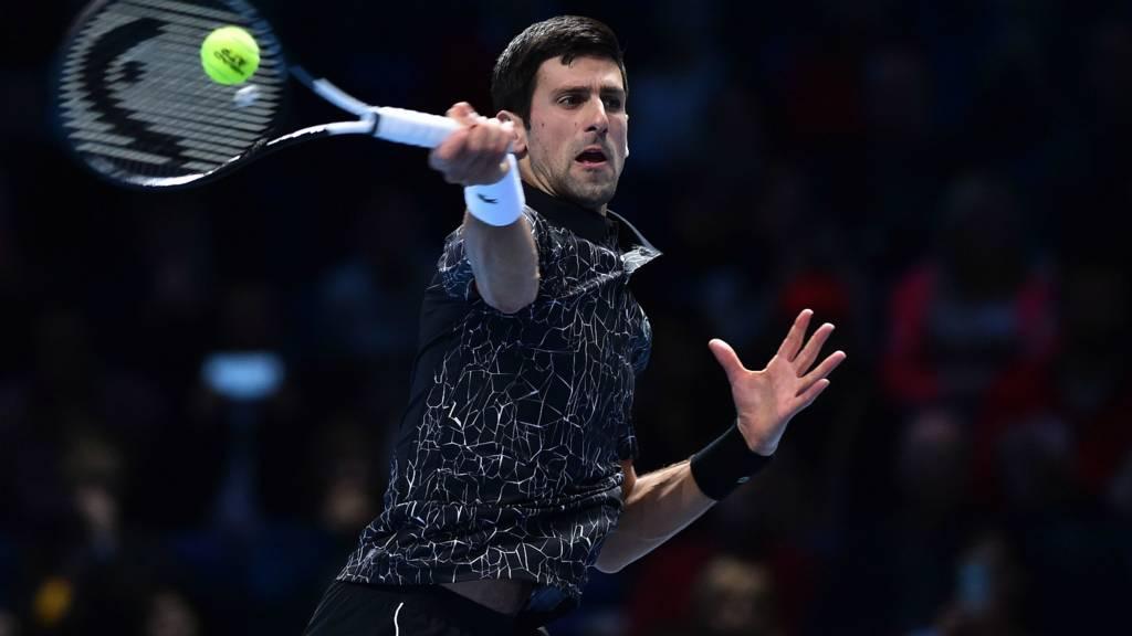 टेनिस : एटीपी फाइनल्स का पहला ग्रुप मैच जीते जोकोविक
