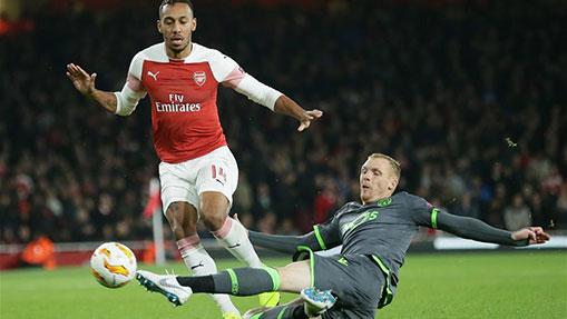 Europa League: Arsenal draws with Sportg